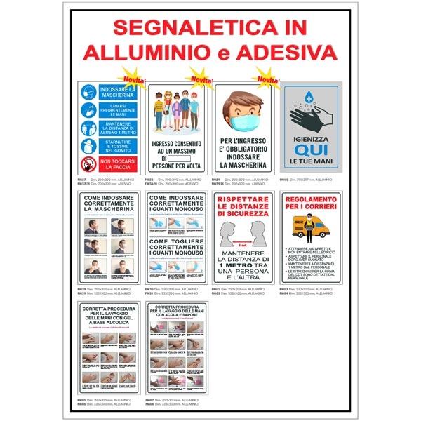 Immagine di SEGNALETICA IN ALLUMINIO